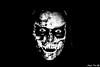 masKs - Kanines (AngelsPixel) Tags: afraid artist artiste bw beauty beurk black blackwhite blackandwhite blanc blonde bones daeath eye face femme furious fury girl hair hurt jesus mal masques monochrome mort mouth nb noir noiretblanc noirblanc oeil os personne peur portrait regard scared show stupeur teeth vampire visage white yeux