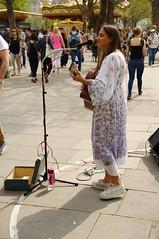 London busker Hayley Harland - 1 (D.Ski) Tags: hayleyharland london busk busker busking music musician centrallondon southbank nikond700 2470mm england uk street entertainer