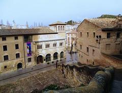 Palacio de los Reyes de Navarra exterior calle de San Nicolas Estella Navarra 01 (Rafael Gomez - http://micamara.es) Tags: palacio de los reyes navarra exterior calle san nicolas estella