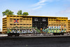(o texano) Tags: houston texas graffiti trains freights bench benching 713k nfm mhc mook jumps