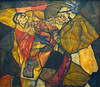 Egon Schiele, Agonie (1912) (Weingarten) Tags: germania germany deutschland allemagne münchen neuepinakothek munich monacodibaviera peinture malerei painting pittura