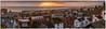 ''Chesil Panorama'' (marcbryans) Tags: portlanddorset chesil outdoors sunsets seascape sea sunflare dwellings horizon skyline landscape coast village panorama nikond500 nikkor1755mmf28