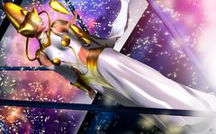 The universe queen (meriluu17) Tags: belleepoque fairytale fantasy fantasyfaire purple pink teal blue galaxy universe guardian gold royal surreal
