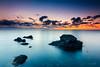 Amanecer (Juan Galián) Tags: sunset sunrise spain landscape seascape mar sea clouds murcia mediterráneo marina