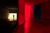 Between the Lines (fehlfarben_bine) Tags: nikond800 nikon160350mmf40 jewishmuseum architecture daniellibeskind berlin availablelight streetphotography red room space lines walls