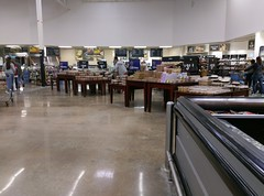 Grocery department, whitewashed (and being readied for Black 2.0) (l_dawg2000) Tags: 2000 2000s christmas departmentstore discountstore grocery holidays holidays2013 mississippi ms olivebranch retail store supercenter wallyworld walmart xmas unitedstates usa