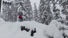 Heavenly powder day (benjaminfish) Tags: heavenly ski snowboard snow winter lake tahoe march 2018 kid