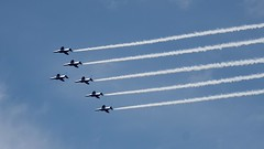 ブルーインパルス (backyard822) Tags: 飛行機 ブルーインパルス