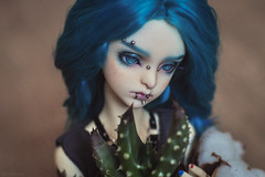 CSC_0289 (nekophoenix) Tags: kikky bjd boy dollzone annieboy annie tattoo pirsing greenhair dz aloe