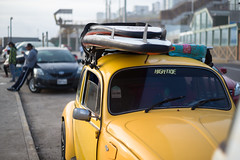 Lima - Surf Life (In.Deo) Tags: cercadodelima peru municipalidadmetropolitanadelima street surf beach surfer surfboard volkswagen beetle
