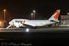 Magma B747 (Dougie Edmond) Tags: plane airplane night shot aircraft cargo airport canon egpk monkton scotland unitedkingdom gb