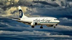 Alaskan Freightdog (N1_Photography) Tags: alaska air cargo boeing 737490 sf n709as manufacturer serial number msn 28896 line 3099 converted freighter by pemco jun 2006