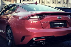 Stinger (BphotoR) Tags: kia stinger car red bphotor backlight backsight