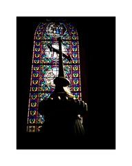 Vitrail (SiouXie's) Tags: color couleur fujix20 fuji fujifilm siouxies vitrail église church croix maromme