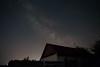 Milky Way and house (NagyKoli) Tags: milky way vilage house dark night