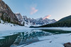 Moraine Lake at Sunset (Chuck - Thanks for the 1M Views!!!) Tags: photosbymch landscape sunset reflection lakemoraine banffnationalpark alberta canada 2017 canon 5dmkiv mountains snow water ice outdoors morainelake