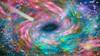 Outer Spacy, Space Art by Artist Dan Seitzinger -WS -3-21-18 (d.m.s. studios) Tags: digital artwork by artist dan seitzinger rendering painting space spacescape stars vortex galaxies