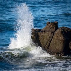 Splash Rock 04 (Charlie Day DaytimeStudios) Tags: beach beanhollowstatebeach ca california coastline highway1 landscape ocean pacificcoast pacificcoasthighway rocks surf