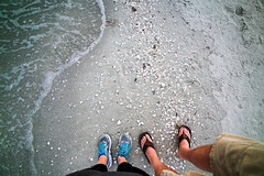 "feet on beach • <a style=""font-size:0.8em;"" href=""http://www.flickr.com/photos/43501506@N07/40930135391/"" target=""_blank"">View on Flickr</a>"