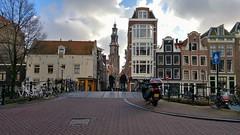 In de Jordaan [ Explored} (Peter ( phonepics only) Eijkman) Tags: amsterdam city toren jordaan canals grachten gracht bruggen bridges brug bridge nederland netherlands nederlandse noordholland holland