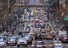 Rush Hour (ginoNYC) Tags: rushhour streets mcdonald's bridge taxi yellowcab pershingsquare grandcentralterminal manhattan nyc newyorkcity newyork traffic