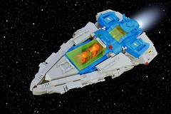 Shard (Brizzasbricks) Tags: shard lego classic space fighter spaceship