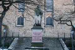 Luther-Denkmal in Annaberg (neuhold.photography) Tags: annaberg annabergbuchholz annenkirche denkmal deutschland erzgebirge europa lutherdenkmal martinluther reformation sachsen statue