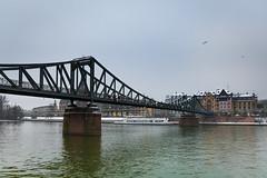 Eiserner Steg 01 (Sam García GA.) Tags: frankfurt germany europe eisernersteg bridge meno river