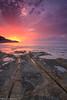 Mediterranean Dreams (Hector Prada) Tags: amanecer mediterraneo cielo nubes baladrar rocas mar playa sunrise sky clouds rocks relax canon paisaje seascape luz light water calm