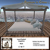 Laurel Daybed {Sapphire} (partnersincrime.sl) Tags: mesh pergola daybed sofa bed outdoor garden beach lounge rustic wood cottage furniture couples adult patio terrace partnersincrime