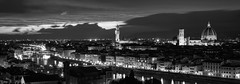 View of Florence from Piazza Michaelangelo 7- (jdl1963) Tags: italy travel tuscanny florence firenze river arno ponte vecchio palazzo bridge cattedrale di santa maria basilica del fiore duomo blackandwhite mono bw monochrome