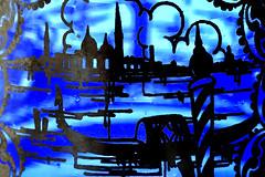 Macro Mondays : The Blues (erichudson78) Tags: macromondays blue macro canonef100mmf28lmacroisusm vase theblues bleu venetianvase verre glass canoneos6d venise venice mondayblues 7dwf