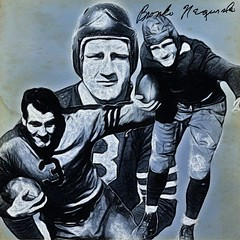 16 - Bronko Nagurski (Bob Smerecki) Tags: smackman snapnpiks robert bob smerecki sports art digital artwork paintings illustrations graphics oils pastels pencil sketchings drawings virtual painter 6 watercolors smart photo editor colorization akvis sketch drawing concept designs gmx photopainter 28 draw hollywood walk fame high contrast images movie stars signatures autographs portraits people celebrities vintage today metamorphasis 002 abstract melting canvas baseball cards picture collage jixipix fauvism infrared photography colors negative color palette seeds university michigan football ncaa mosaic