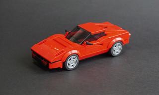 Lego 1975 Ferrari 308 GTB - 01