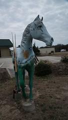 DSC_7497 (Copy) (pandjt) Tags: roadtrip unitedstates usa northcarolina wingedhorseextravaganza horse horsesculpture sculpture statue fiberglasssculpture publicart killdevilnc killdevil