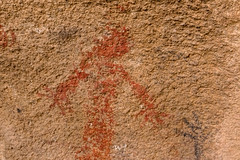 Portrait of the Red Lady (W9JIM) Tags: twentyninepalms california unitedstates w9jim rockart pictograph theredlady monalisa joshuatreenationalpark joshuatree jtnp ef1635mmf4lisusm canoneos7dmarkii