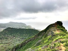 """""""Death, therefore, the most awful of evils, is nothing to us, seeing that, when we are, death is not come, and, when death is come, we are not."""" ―Epicurus ☁️ 🌋 🌴 ⛰ (anokarina) Tags: 🌱 💦 🌴 🌋 ⛰ ☁️ appleiphone7 kuliououridgetrail kuliouou honolulu hawaii hnl hi oahu tropical island paradise hike volcanic trail clouds skyline mountains volcanoes pacificocean coastline shoreline"""