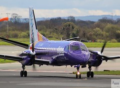 Flybe (Op by Loganair) S340 G-LGNJ taxiing at MAN/EGCC (AviationEagle32) Tags: manchester man manchesterairport manchesteravp manchesterairportatc manchesterairportt1 manchesterairportt2 manchesterairportt3 manchesterairportviewingpark egcc ringway cheshire ringwayairport runwayvisitorpark runway runway23r unitedkingdom uk airport aircraft airplanes apron aviation aeroplanes avp aviationphotography avgeek aviationlovers aviationgeek aeroplane airplane planespotting planes plane propellers flying flickraviation flight vehicle tarmac flybe flybepurplelivery loganair saab saab340 s340 turboprop glgnj