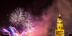 fuegos artificiales en Murcia (pedrojateruel) Tags: fuegos artificiales murcia catedral minolta 50mm 14