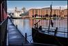 P1230742-1 - Albert Dock (dangle earrings) Tags: albertdock liverpool ship dangleearings panasonicdmcgx8 buildings sky water reflections