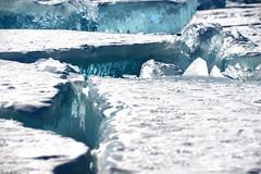 Blue Ice (MelindaChan ^..^) Tags: siberia russia 俄羅斯 西伯利亞 chanmelmel mel icicle 冰 snow nature ice cube blue white cold formation melinda melindachan lake baikal 貝加爾湖 frozen irkutsk people winter life travel alkhon island 奧爾洪島