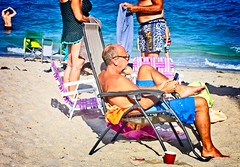 Guys on-the Beach (LarryJay99 ) Tags: 2018 lakeworth florida lakeworthbeach atlanticocean shirtless men male man guy guys dude dudes ocean water beach shore shoreline sandy waves people legs profile goatee mustasche barefuss barefoot barefeet beet knees hairyarms hairylegs virile masculine belly guysbelly seated lakeworthflorida bulge bulges manly stud hairy arms