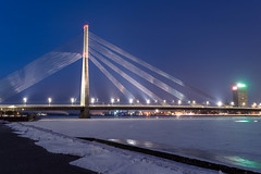 Night view of Vansu bridge