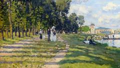 Monet,  Le bassin d'Argenteuil