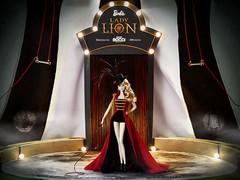 LADY LION, honorable Barbie of the Portuguese Doll Convention 2018 (davidbocci.es/refugiorosa) Tags: lady lion portuguese convention 2018 barbie mattel fashion doll muñeca refugio rosa david bocci circo circus tamer