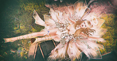 Nº 81 - As The World Falls Down (MISS V♛BRASIL 2017 // MISS V♛ RUSSIA 2018 ♛ ) Tags: irrisistible fantasy shop swank event angel fairy spring outfit clothes costume fancy women woman applier mesh dress shoes hairs maitreya belleza slink hourglass sl second life secondlife design fashion roleplay rp