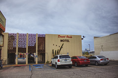 Las Vegas, NV 06 (Christopher Elliot Taylor) Tags: 1452 outdoors motel lasvegas desertoasis vintage canont1i affinityphoto hdr sky cars travel tourism