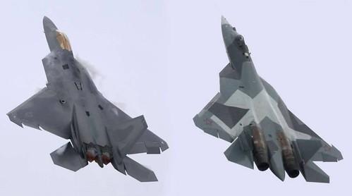 F-22 & SU-57