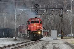 OL-3 at Emporium (Eric_Freas) Tags: alcos western new york pennsylvania railroad wnyp emporium
