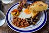 Breakfast @Barefoot Le Point Bar (bozyhan1105) Tags: breakfast san juan la union philippines monalisa egg bacon toated bread foodtography